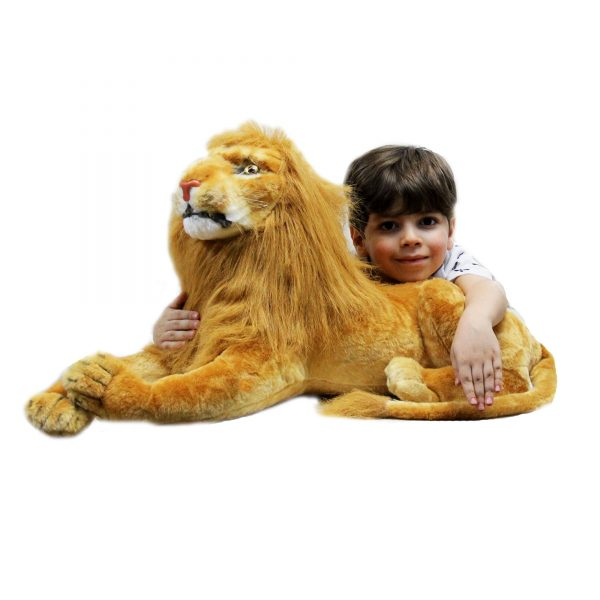عروسک شیر افریقایی بزرگ