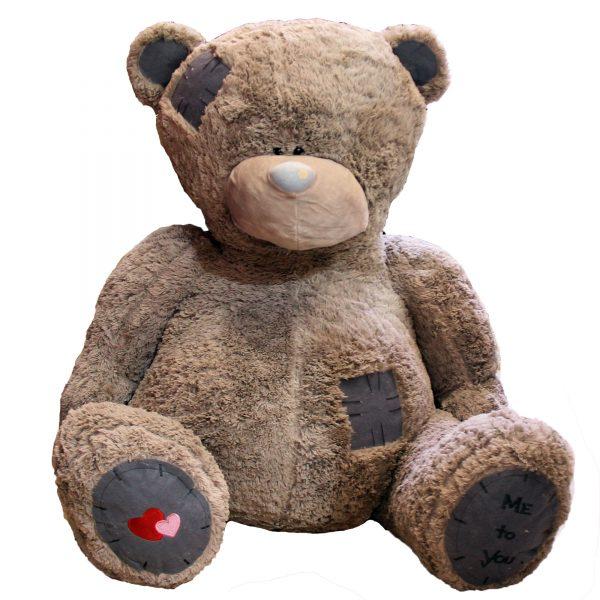 عروسک خرس بزرگ خاکستری