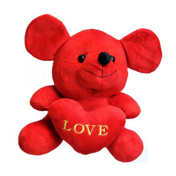 عروسک ولنتاین موش قلب بدست