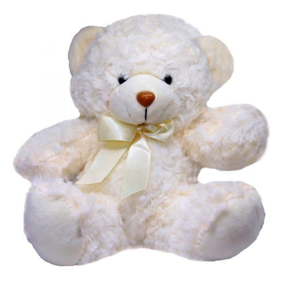 عروسک پولیشی خرس سفید