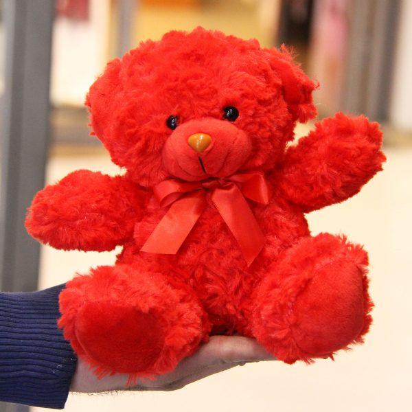 عروسک پولیشی خرس قرمزعروسک پولیشی خرس قرمز
