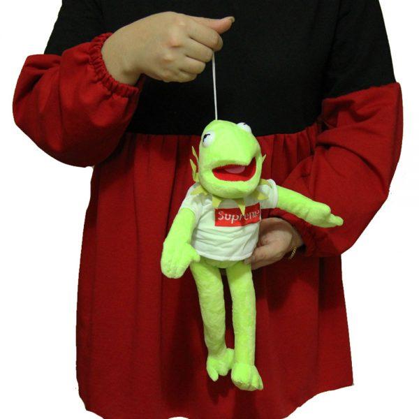 عروسک کرمیت قورباغه سبز