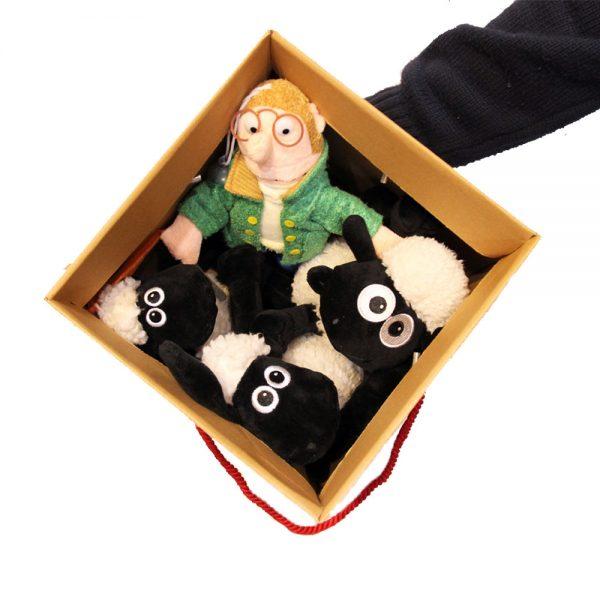 عروسک بره ناقلا مجموعه 4 عددی