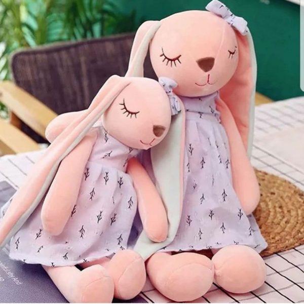عروسک خرگوش انجل چشم بسته