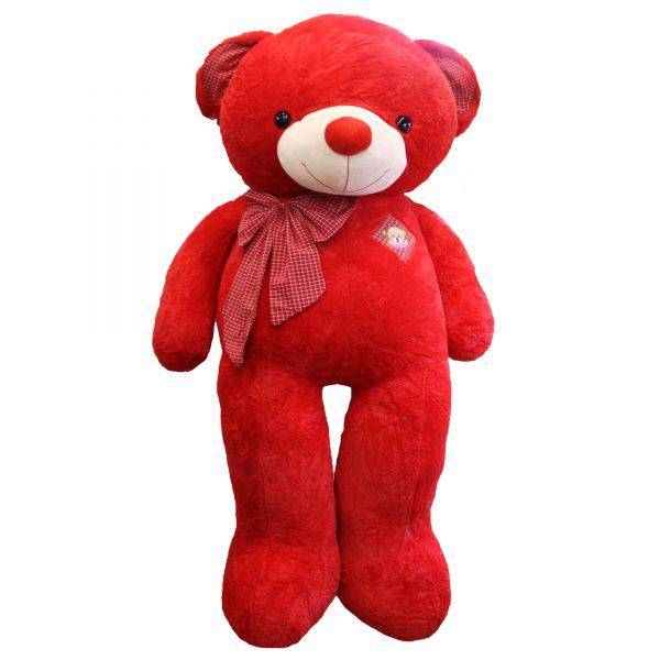 عروسگ خرس بزرگ قرمز دو متری