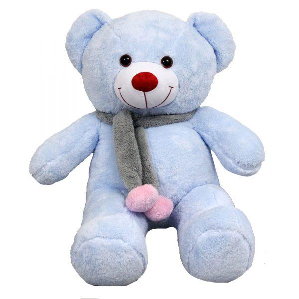 عروسک خرس بزرگ آبی