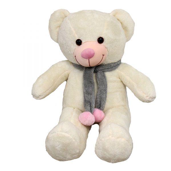 عروسک خرس بزرگ سفید یک متری