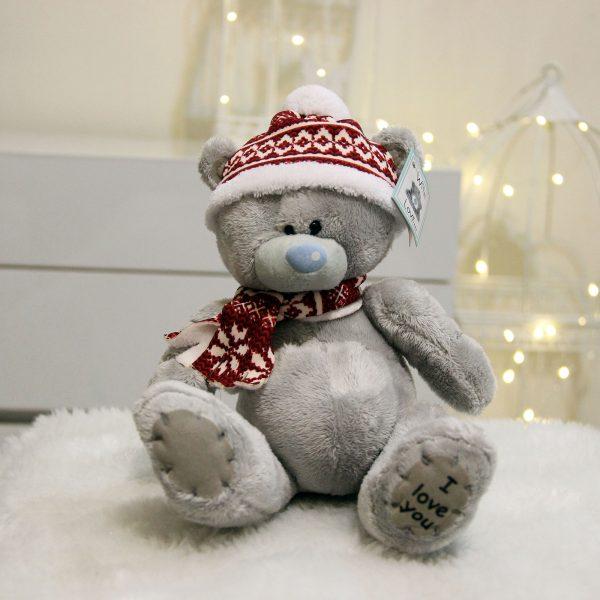 عروسک ولنتاین خرس میتویو زمستانی
