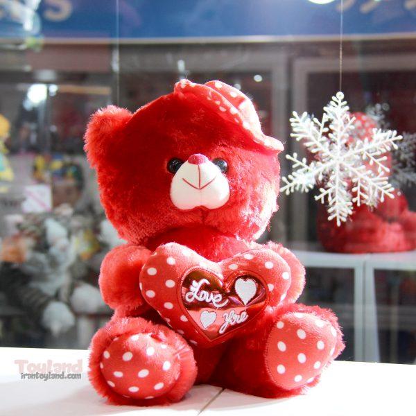 عروسک ولنتاین خرس قرمز