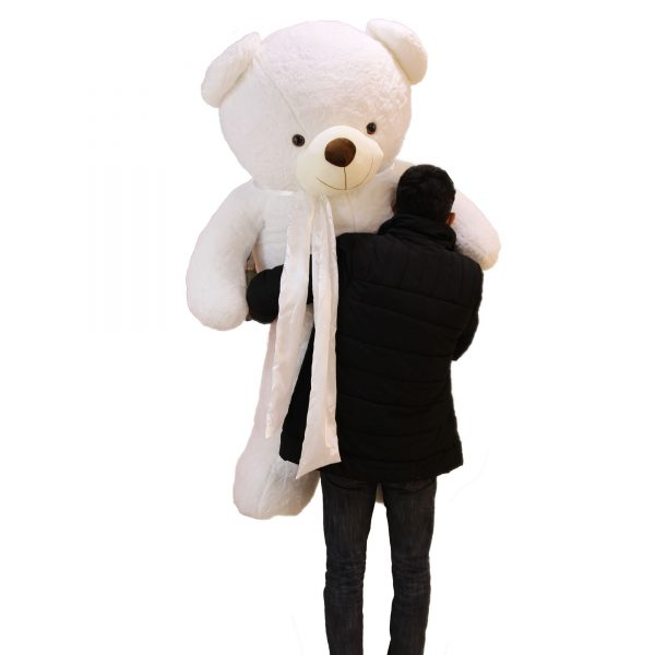 عروسک خرس بزرگ سفید