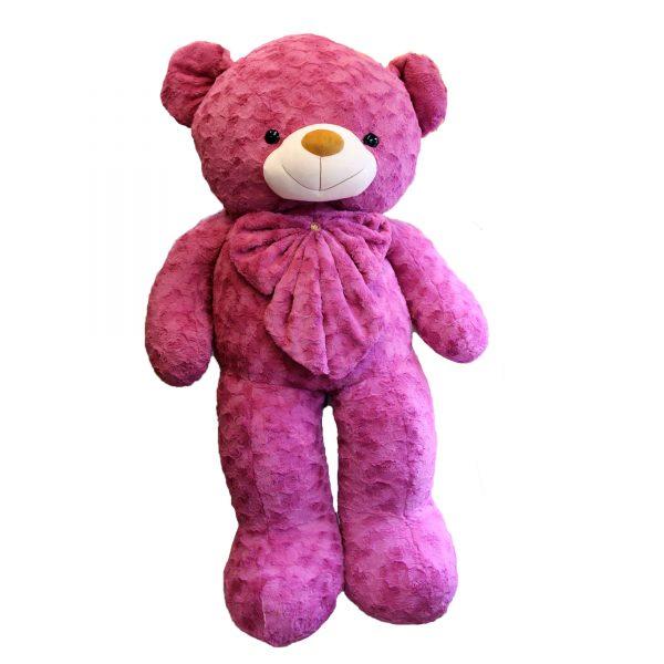عروسک خرس بزرگ بنفش