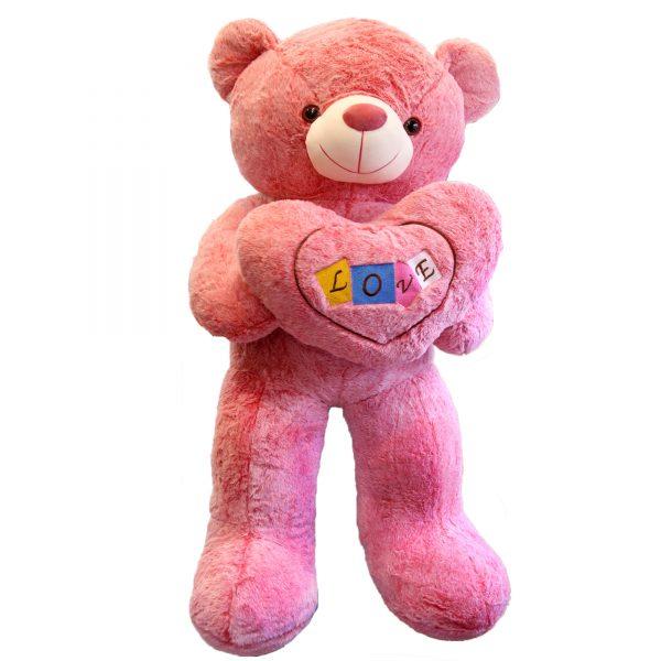 عروسک خرس بزرگ لاو ولنتاین