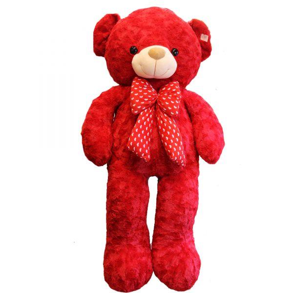 عروسک خرس بزرگ قرمز