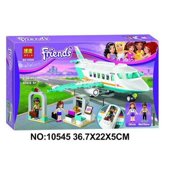 لگو ساختنی هواپیمای فرندز bela10545