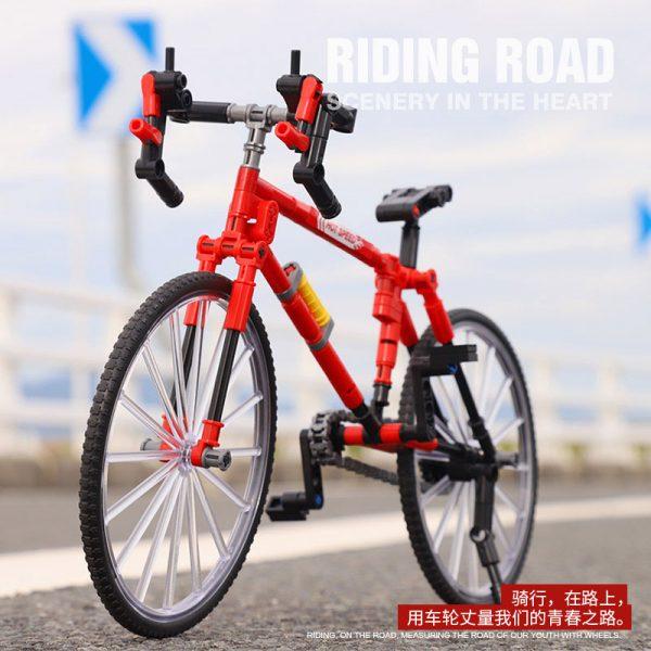 لگو ساختنی دوچرخه کورسی