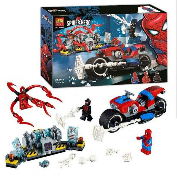 لگو ساختنی اسپایدرم مرد عنکبوتی